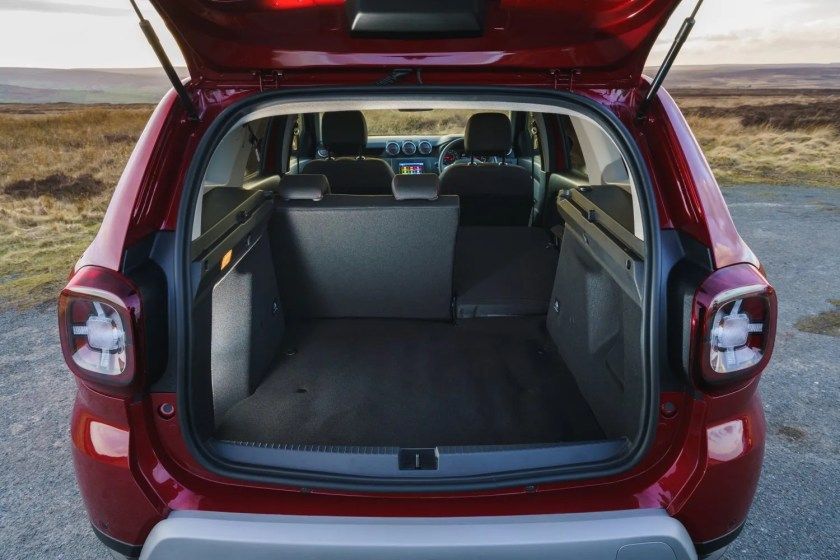 The Duster offers great space for the money in the small SUV market