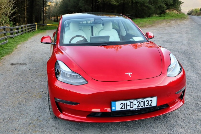 The Tesla Model 3 has a great design with plenty of interior space