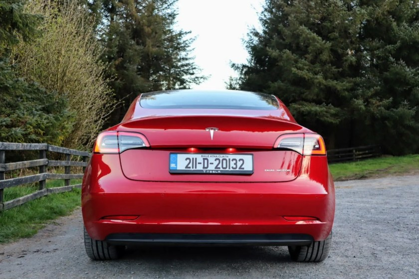 The Tesla Model 3 Long Range available from €58,990