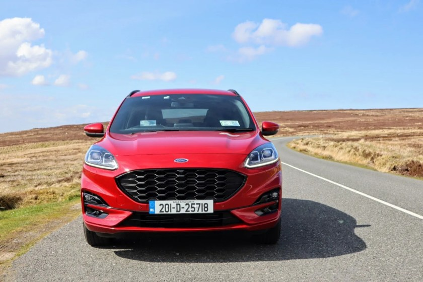 The Ford Kuga plug-in hybrid range starts from €40,691 in Ireland