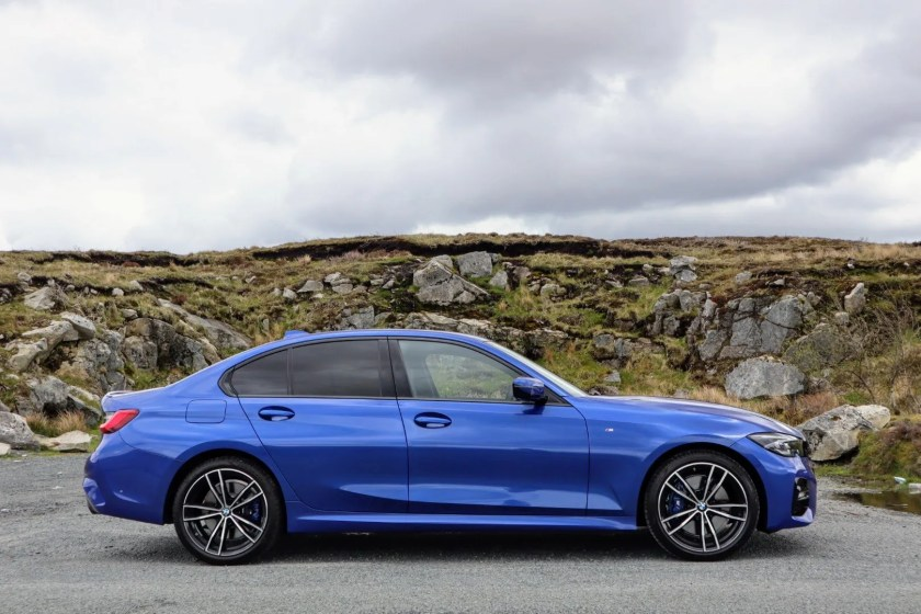 The 3 Series is a fun sports saloon