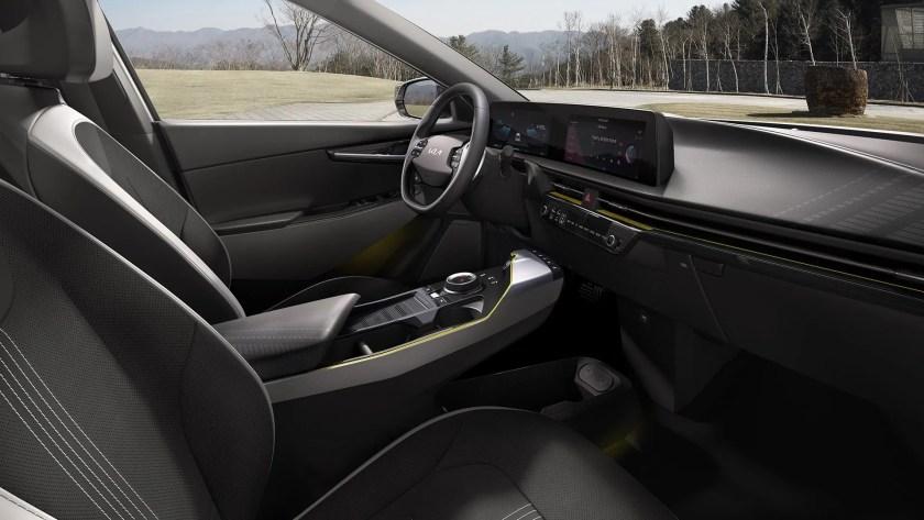 Inside the new Kia EV6