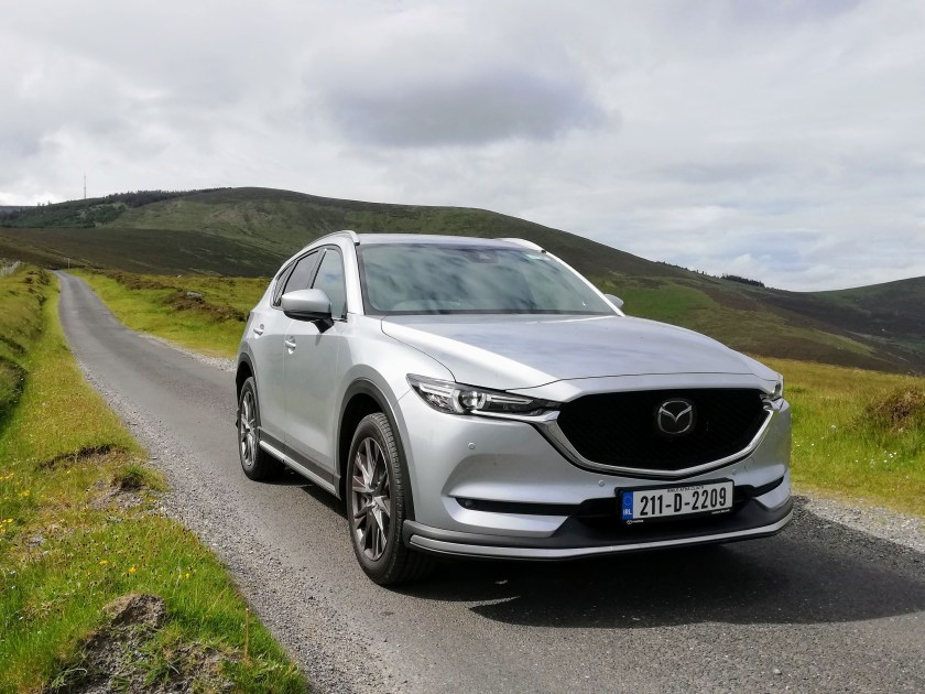 The Mazda CX-5 on test for Changing Lanes!