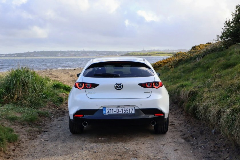 The Mazda3 is refined and fun to drive!