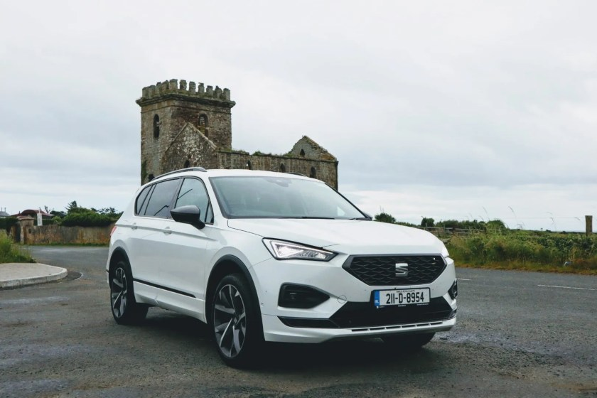 The 2021 SEAT Tarraco FR on test for Changing Lanes!