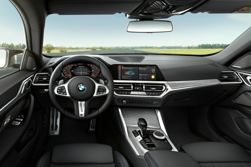 The interior of the new 4 Series Gran Coupé