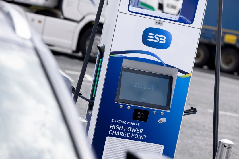 ESB has opened a new 8-bay charging hub in Kildare