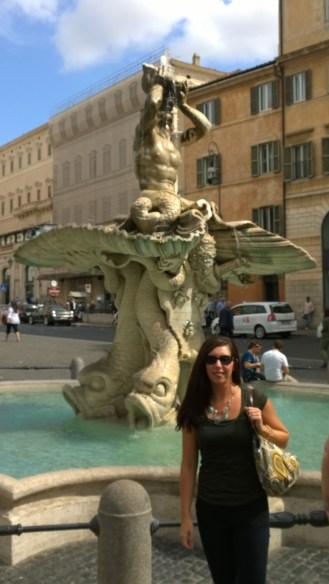 Triton Fountain-Piazza Barberini