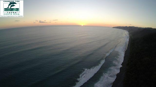 Osa Peninsula sunset