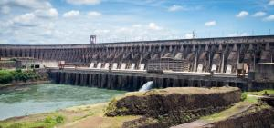 The Itaipu Dam in Brazil. Credit Deni Williams