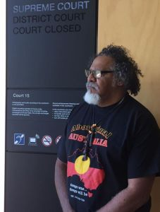 adrian-adrian-burragubba-at-the-qld-supreme-court-nov-2-2016-for-the-hearing-of-the-judicial-review-filed-by-five-wj-traditional-owners-of-minister-lynhams-decision-to-grant-mining-leases-to-adani