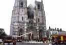 Francia: se incendió la catedral gótica de Nantes y abren una investigación