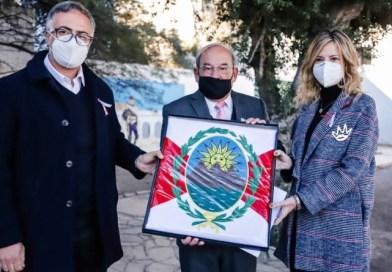 Capital cuenta con una réplica exacta de la Bandera Primigenia del Perú