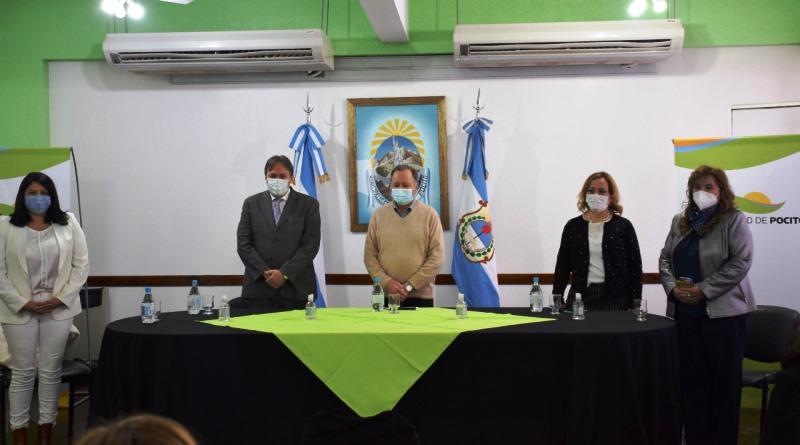 Funcionarios del Ministerio de Salud de la Nación visitaron Pocito y en una reunión presentaron diversos programas