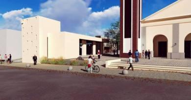 Hoy inauguran la obra de remodelación de la iglesia de Jáchal.