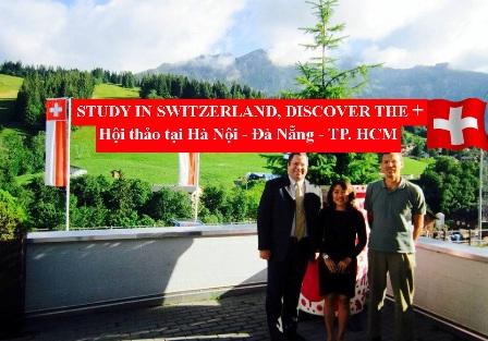 Hội thảo du học Thụy Sĩ, học bổng học viện HTMi 1
