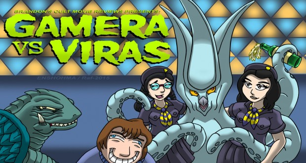 Gamera vs Viras  Brandon Tenold  Channel Awesome