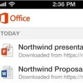 Microsoft Office for iPhone