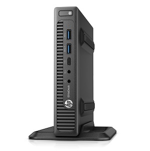 HP EliteDesk 800 G2 - DM 65W, Catalog, Left facing with stand