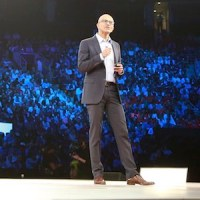 Microsoft CEO Satya Nadella at WPC 2016.