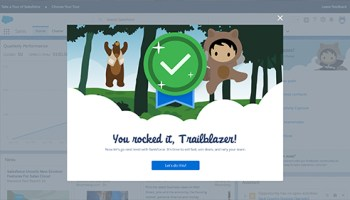 myTrailhead platform delights Salesforce partners at Dreamforce