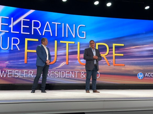 HP touts digital enablement to top partners as key to