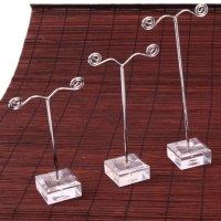 3 x Fashion Women Lady Girl Jewelry Earring Display Stand ...