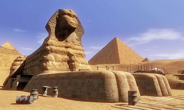 The Sphinx, Part One