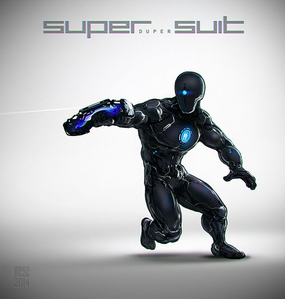 Erik on the ET Reverse Engineered Super Suit