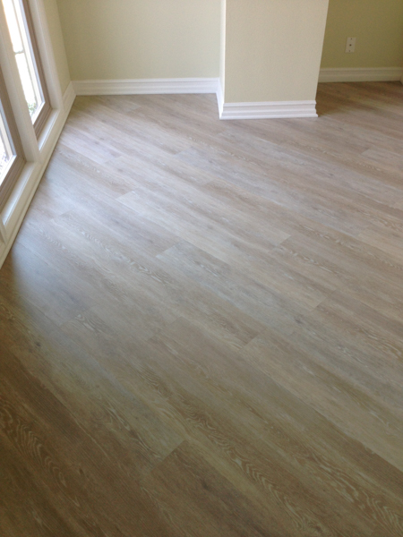 Leslies Coretec Flooring Project  Channel Islands Flooring