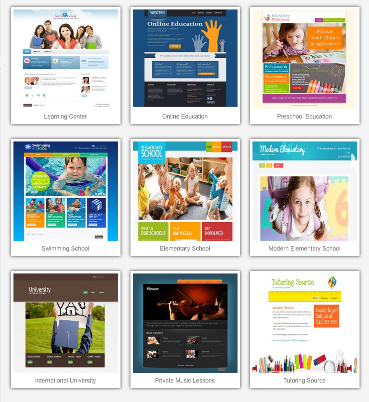 Image: Education Templates