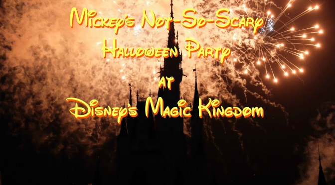 Halloween With Disney…