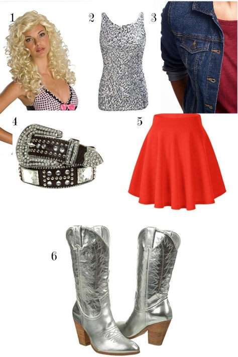 How to be dolly parton for halloween