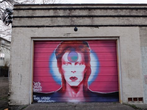Houston Murals, David Bowie