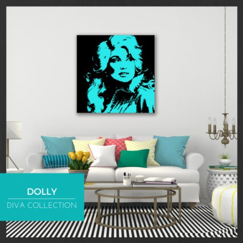 Adorn Your Walls With Dolly