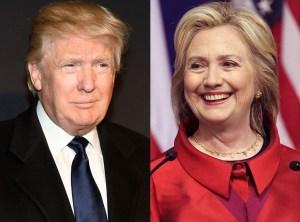 trump-and-clinton