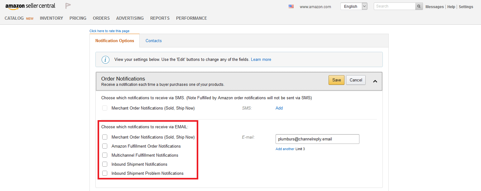 How to Forward Amazon Notifications to Zendesk. Freshdesk or Desk