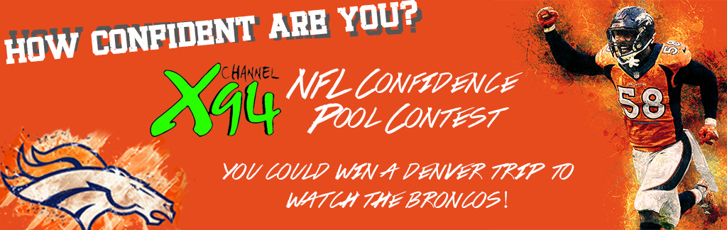 NFL Confidence Pool 2019 – Channel X94