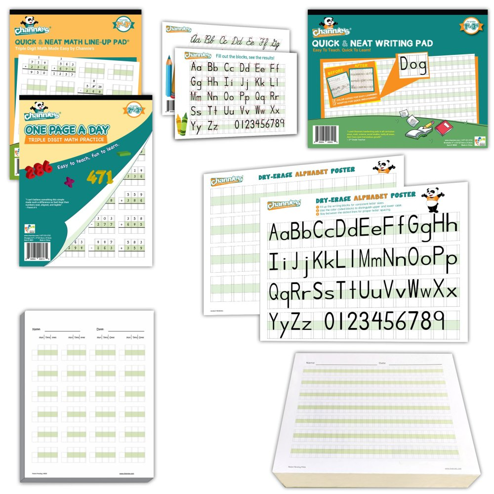 medium resolution of 2nd Grade Visual Writing \u0026 Math Compete Kit-Classroom of 20   Channies