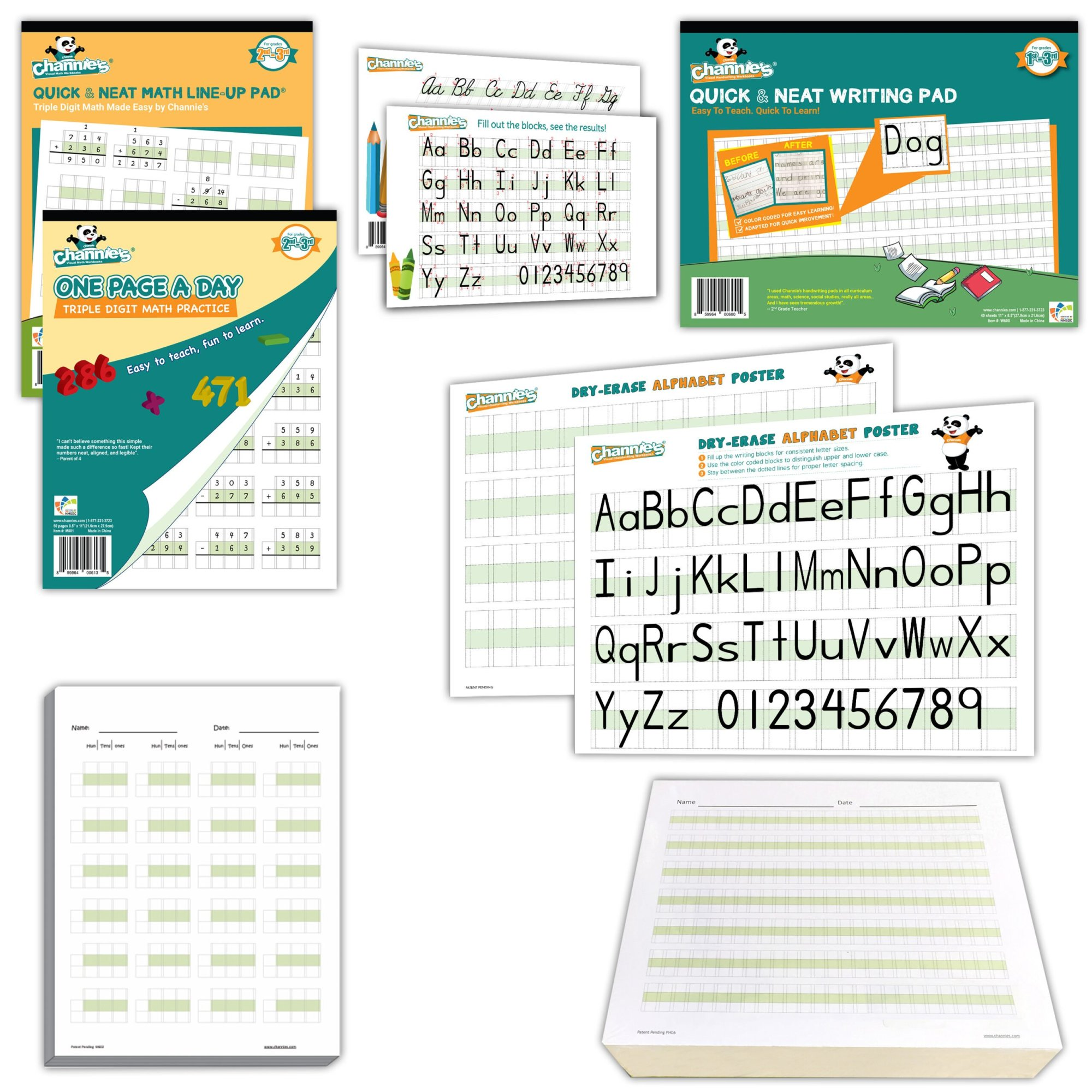 hight resolution of 2nd Grade Visual Writing \u0026 Math Compete Kit-Classroom of 20   Channies