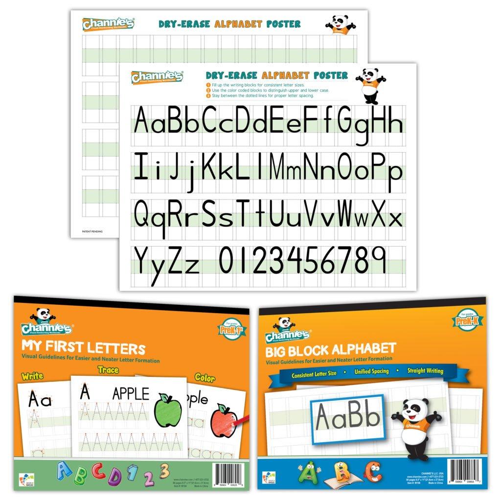 Pre K Visual Letters Classroom Kit B Classroom Of 20