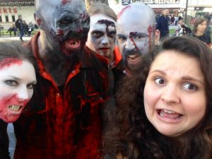 Zombie Festival in Leicester Square