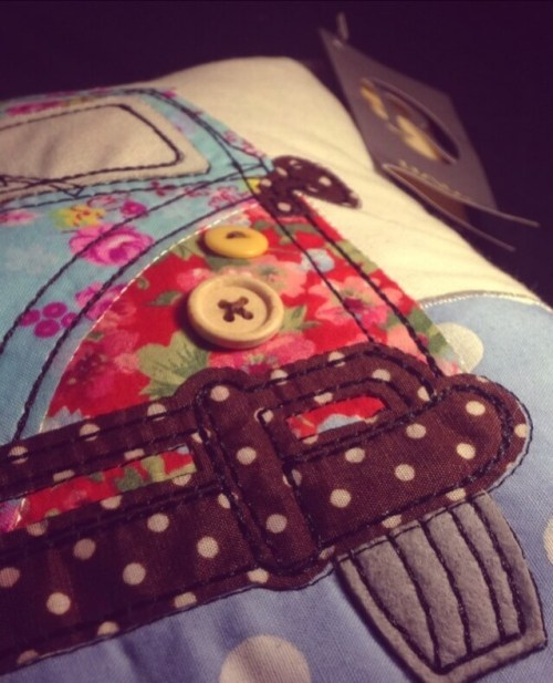 Campervan Pillow from the Range