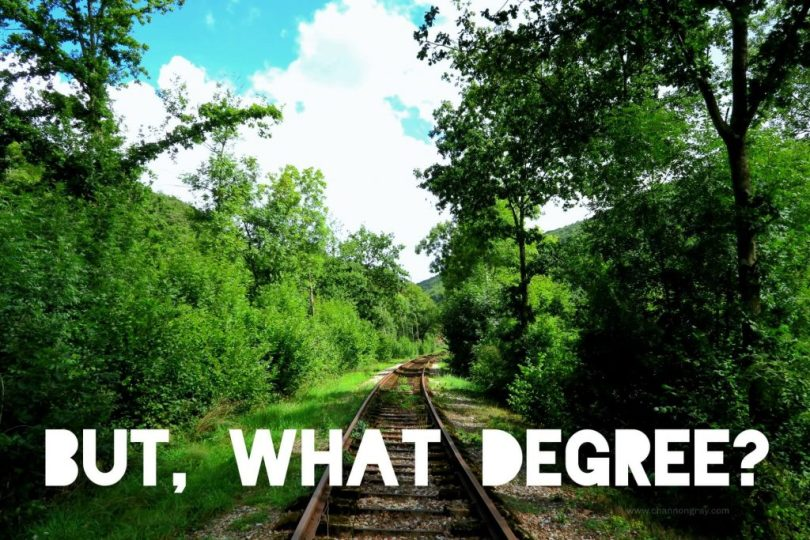 But, What Degree? - Channon Gray