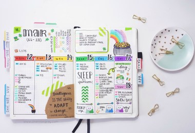 Are you struggling for bullet journal ideas for spreads, pages and layouts? Well look no further, I have a list of 101 bullet journal ideas that will keep you busy, creative and organised at all once // heythereChannon - www.channongray.com #productivty #organisation #bujo #bulletjournal