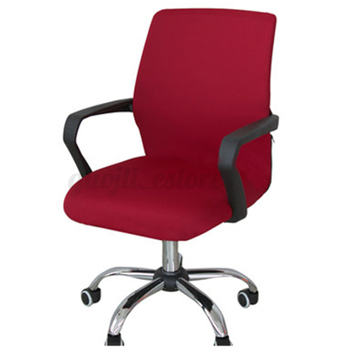 Office Chair Seat Covers Swivel Computer Chair Cover Stretch Office Spandex
