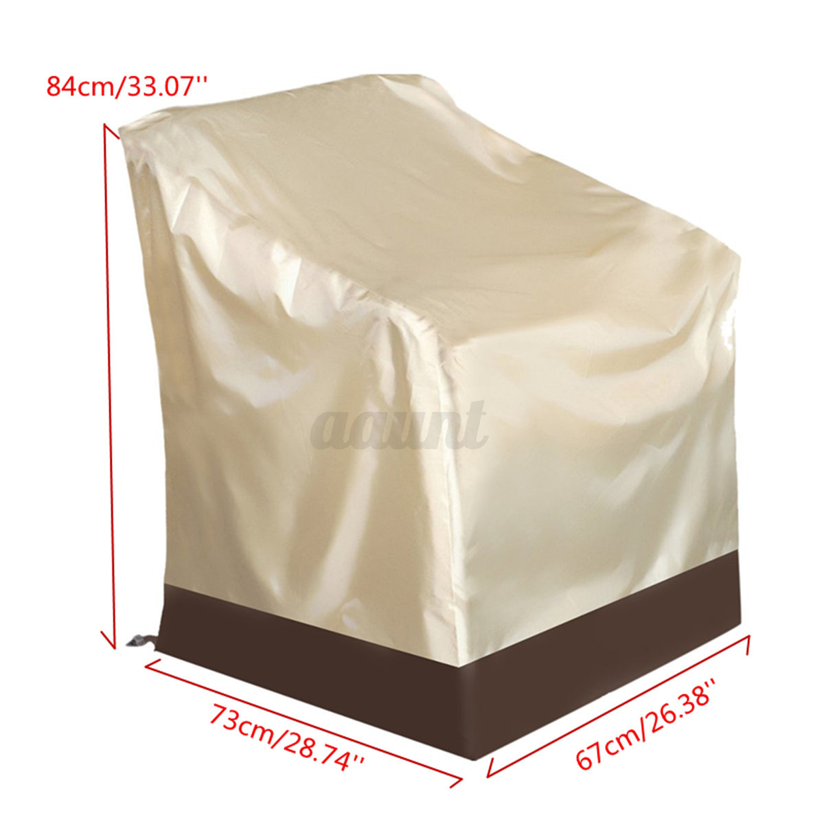 Waterproof Chair Covers Waterproof Patio Single High Back Chair Covers Outdoor