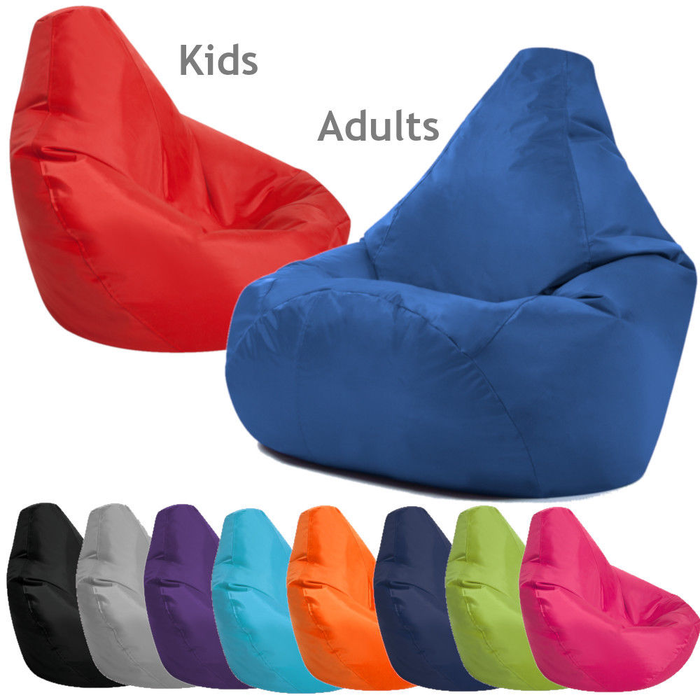 Where Can I Buy A Bean Bag Chair Details About Bean Bag Chair Indoor Outdoor Gamer Beanbag Seat Adult And Kids Sizes