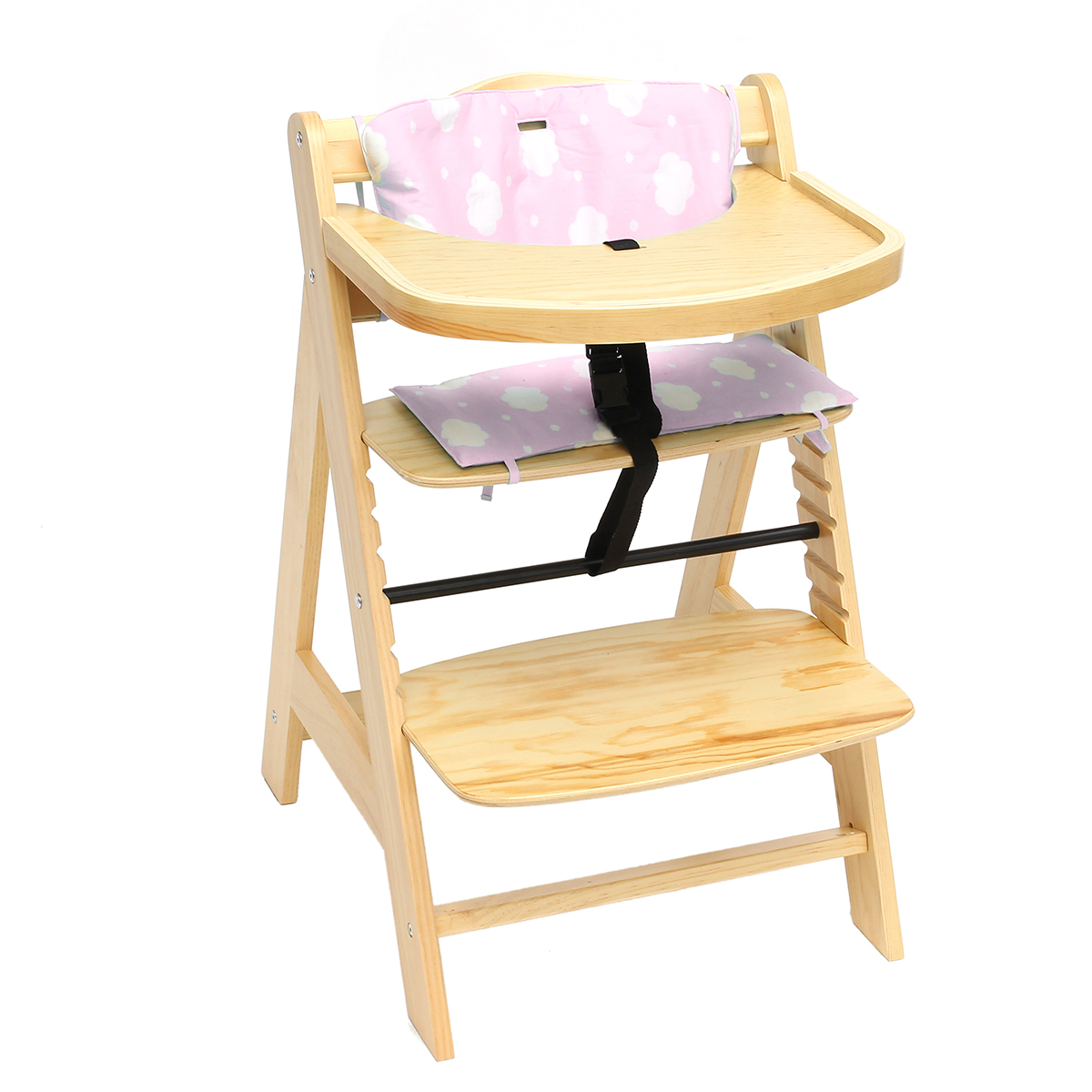 3 In 1 High Chair 3 In 1 Baby Wooden High Chair Convertible Table Seat