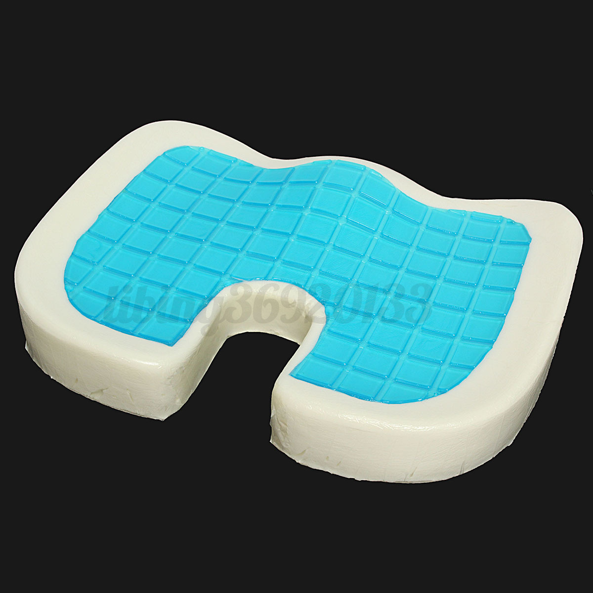 Gel Pad For Chair Coccyx Orthopedic Gel Enhanced Comfort Memory Foam Seat